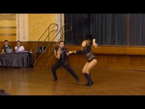 2015 Australian Bachata Championship - Pro/Am Couple - Nestor and Tiffany