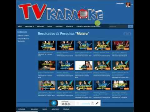 TVKaraoke - 10 Mil Músicas Karaoke Online - Acesse: Www.tvkaraoke.com.br