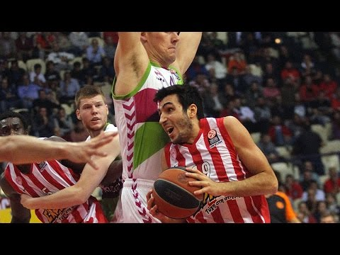 Highlights: Olympiacos Piraeus-Laboral Kutxa Vitoria