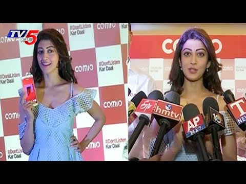 Actress Pranitha Launches Comio Smartphones In Hyderabad | TV5 News