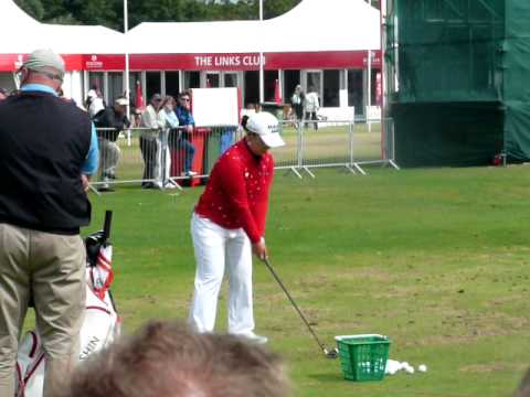 Ji Yai Shin Ricoh Womens British Open 2009 Video
