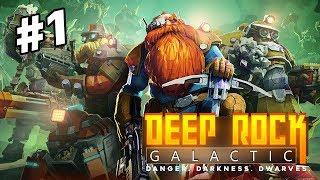 GAME ĐÀO VÀNG HAY NHẤT HỆ MẶT TRỜI! | Deep Rock Galactic #1
