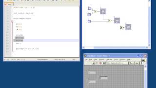 Labview tutorial for C programmers #2 - Instruction vs. dataflow