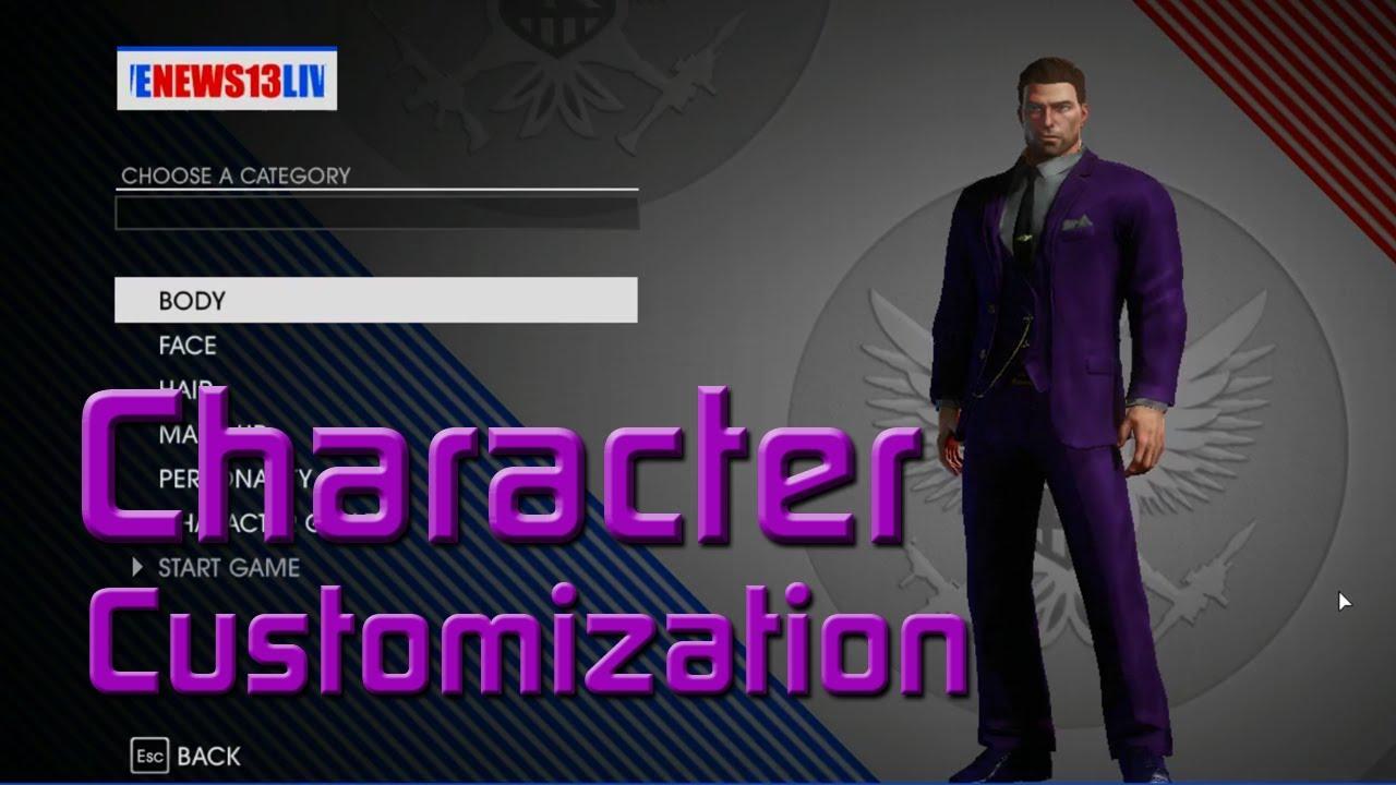 Saints Row Anime Character Creation : Saints row iv gameplay walkthrough character creation