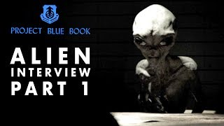 Ebe3 Interview  Alien Interviewed In 1964