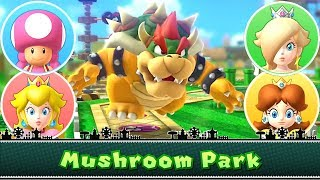 Mario Party 10 Bowser Party Mushroom Park (Team Mario)◆ Toadette, Peach, Rosalina, Daisy #5