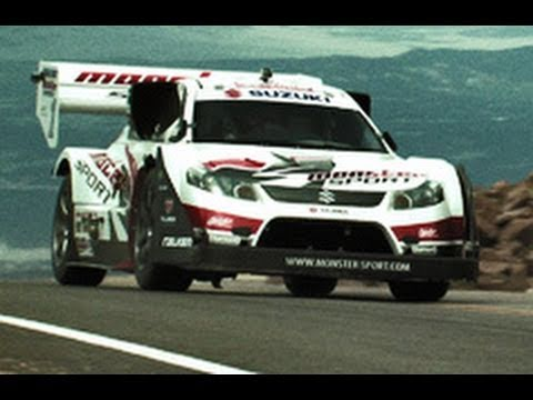 Climb - Pikes Peak Hill Climb with a Monster