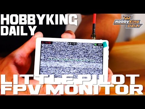 Little Pilot FPV Monitor - HobbyKing Daily