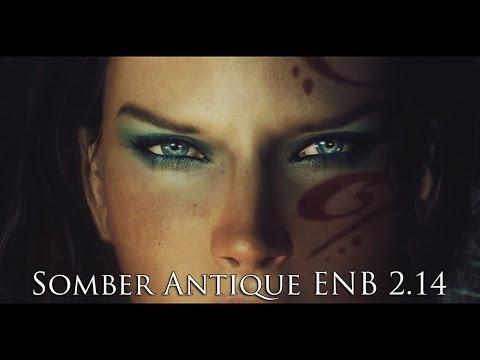 TES V - Skyrim Mods: Somber Antique ENB 2.14