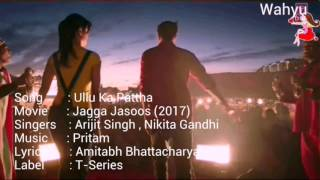 download lagu Ullu Ka Pattha English. Jagga Jasoos  Ranbir K, gratis