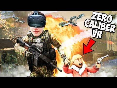 ВЗЯЛ СЫНА НА ОПАСНОЕ ЗАДАНИЕ В VR (HTC Vive) Zero Caliber