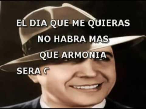Carlos Gardel   El Dia Que Me Quieras