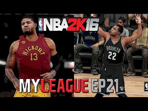 NBA 2K16: Brooklyn Nets MyLeague - Hickory High [Y3G30 EP21]
