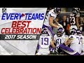 Every NFL Team's Best Celebration from the 2017 Season! | NFL Highlights MP3
