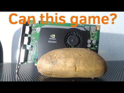 Can you game on $13 dollar workstation GPU (aka Quadro FX 580)?
