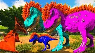 Bebê T-Rex Corre Perigo, Meu Irmão Mim Abandonou No Covil a Própia Sorte! Ark Survival Evolved