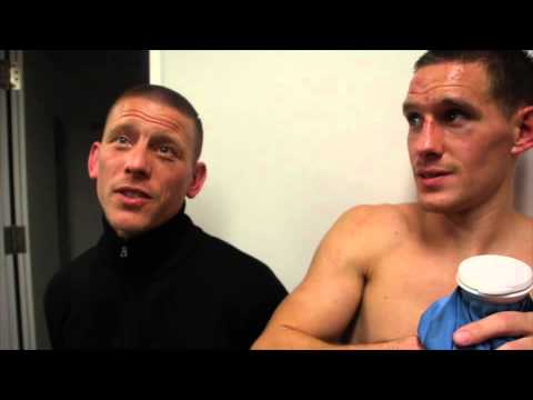 LIAM WALSH STOPS A BRAVE JOE MURRAY IN REMATCH   POST FIGHT INTERVIEW / iFL TV