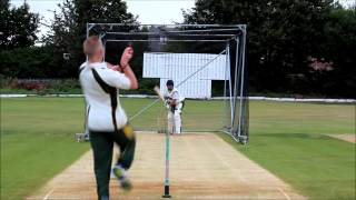 Cricket nets ... Return of seam bowling
