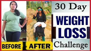 30 DAYS WEIGHT LOSS CHALLENGE   Fitness Motivation