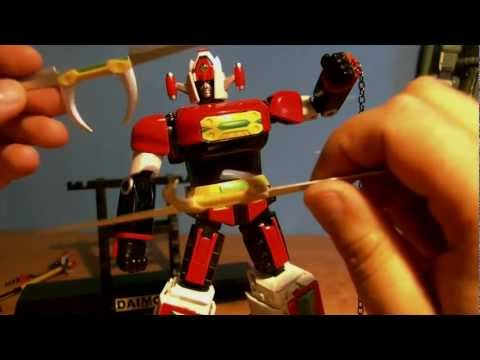 Bandai Soul Of Chogokin Gx-43 Daimos Pl video