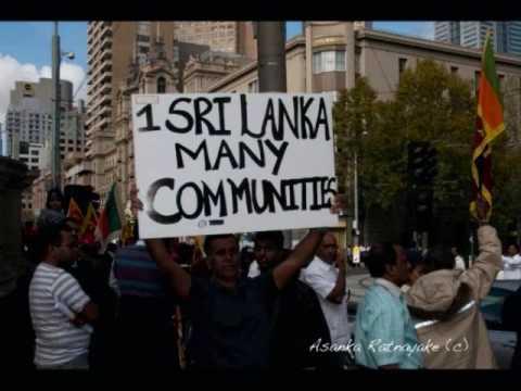 Australian Sinhalese & Tamils  Protest Against Tamil Tiger Terrorist 05/04/2009