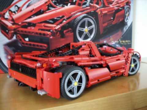 Lego Racers 8653 Enzo Ferrari 1 10 Amp 8145 Ferrari 599 Gtb