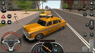 Taxi Sim 2016 - #10 New Taxi Unlocked | Taxi Simulator Games - Android iOS GamePlay FHD