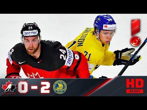 10.11.2017г. Канада - Швеция - 0:2. Голы