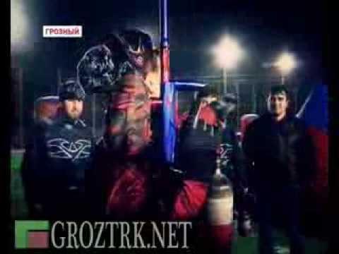 В круг спортивных увлечений Рамзан Кадыров добавил и пейнтбол