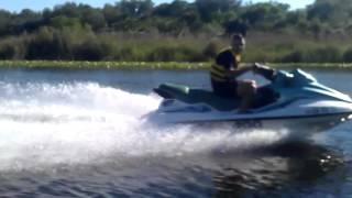 Jonah Flying Down The St Johns River