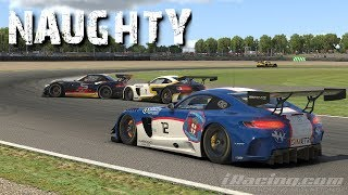 iRacing   VRS SPRINT @ DONINGTON   SOMEONES GETTING A HOLIDAY!