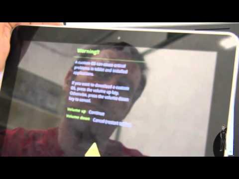 Tablet Samsung Galaxy Tab 10.1 3G. Instalar una ROM original en una tablet ya
