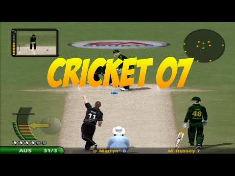 EA Sports Cricket 2007: Australia vs New Zealand Gameplay