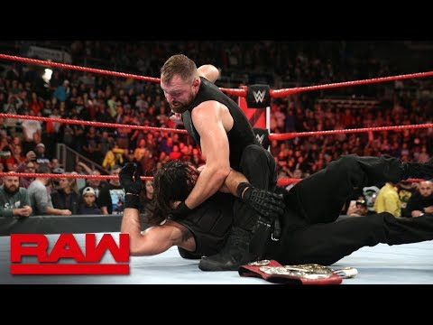 Dean Ambrose unleashes a stunning assault on Seth Rollins: Raw, Oct. 22, 2018 thumbnail