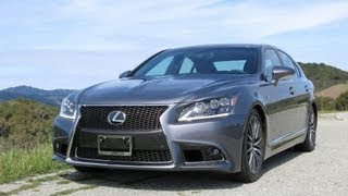 2013 and 2014 Lexus LS 460 F-Sport Review with Infotainment Overview and Road Test