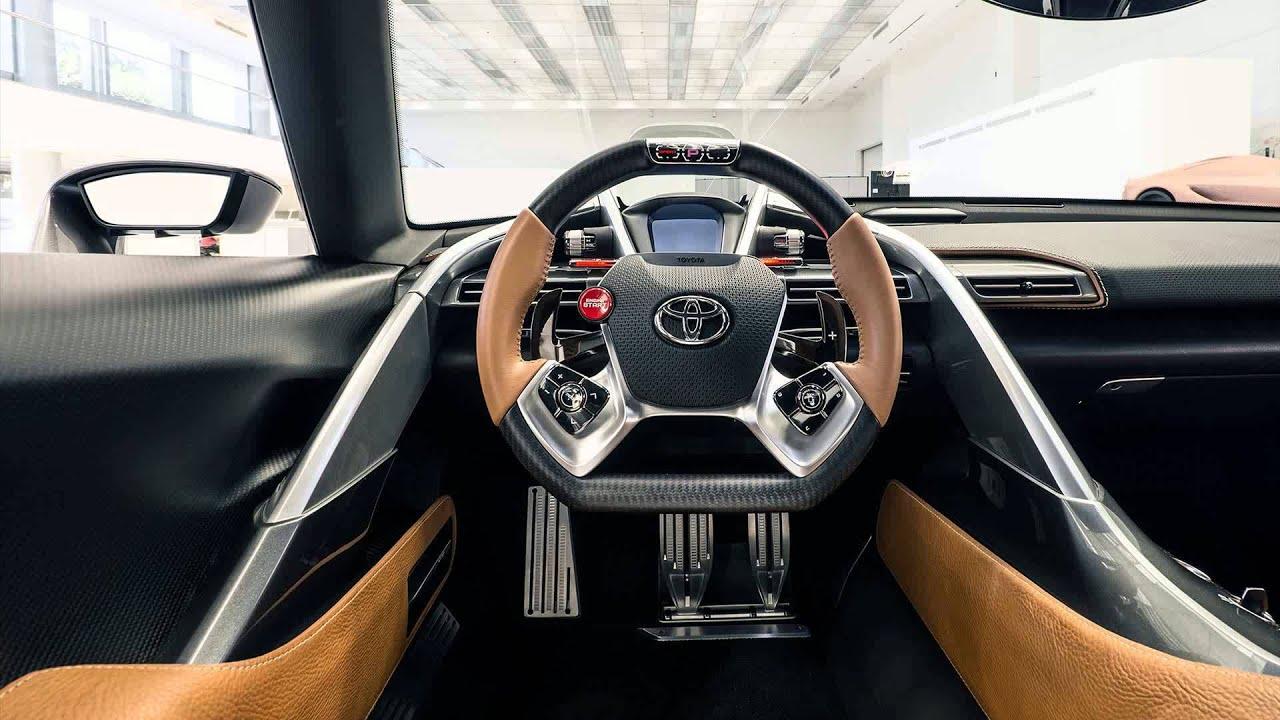 Toyota Ft1 Graphite Concept Youtube