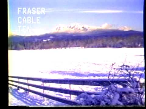 Snowy footage of Golden Ears mountain features in this winter 1982 clip from Fraser Cable 10 community television. I'm not professional but I think white gra...