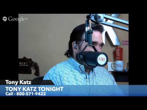 Tony Katz Tonight Radio - 5/26/14 - Politicizing Santa Barbara Shooting and Guest Kurt Schlichter