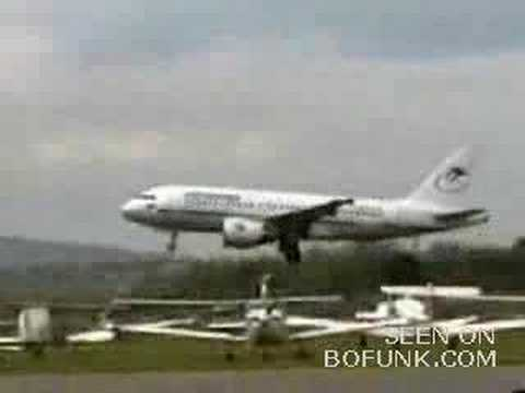 cowboy airline pilot makes a scary takeoff