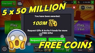 8 Ball Pool Unlimited Coin Giveaway