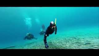 Diving & freediving in Green Lake (Grüner See) in Austria GoPro 3+