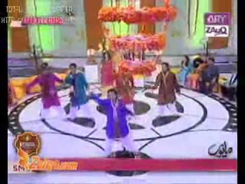 (zara Dholki Bajao) Me & My Group Dance Performance Live On A.r.y Zauq Channel video