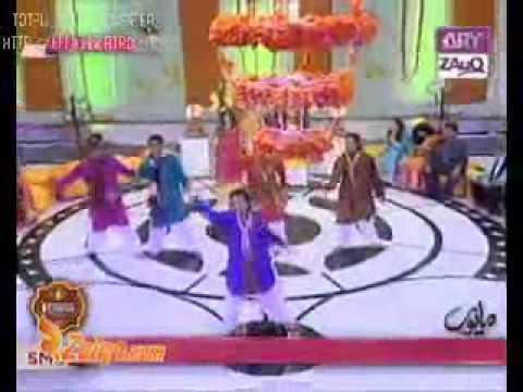 (zara Dholki Bajao) Me & My Group Dance Performance Live On A.r.y Zauq Channel video