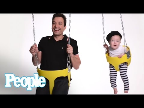 This Video Jimmy Fallon and Baby Winnie Is the Cutest Thing You'll See All Week