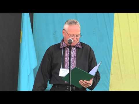 Kontakt TV: Taras Bahriy at Ukrainian Independence Day Celebrations