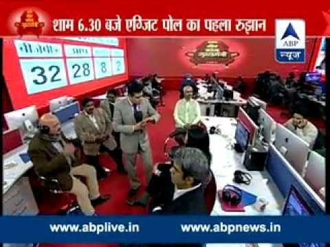 ABP News Exit Poll ll First Cut ll  AAP likely to form govt in Delhi, BJP fails to get majority