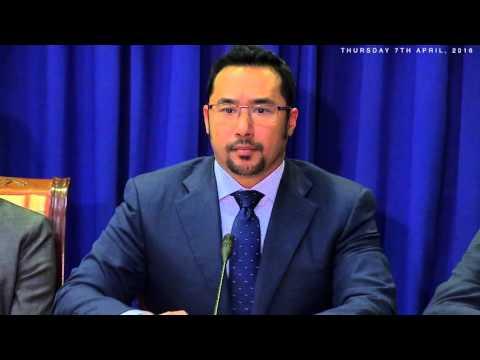 Post Cabinet Media Briefing (Thursday 7th April 2016)