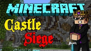 Minecraft: CASTLE SIEGE #2 - Feat. TheCampingRusher!