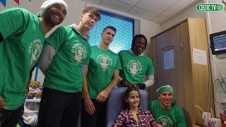 Celtic FC - The Bhoys visit the Royal Hospital for Children