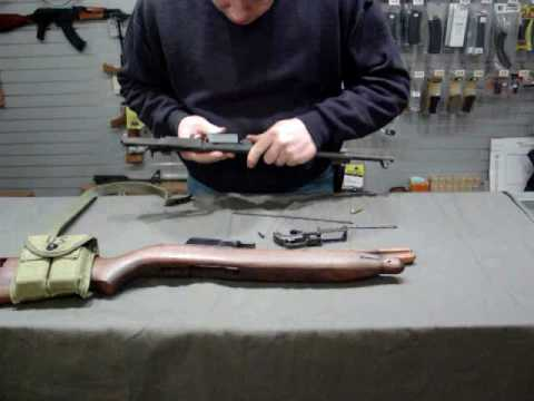 M1 Carbine Disassembly and Reassembly
